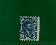 Colony Canada 1859 17c CARTIER unused UN SG.42 cat £1600 LOVELY COLOUR YELLOW168