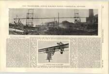 Fuente eléctrica 1900 Temperley carbón Transportador Deptford