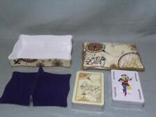 Wedgwood Atlas Porcelain Box with 2 Sealed Playing Card Sets