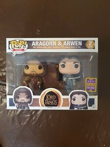 Aragorn & Arwen Funko Pop! Vinyl Figure 2017 summer exclusive