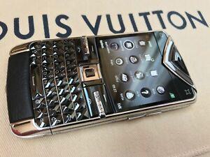 VERTU CONSTELLATION QUEST CERAMIC STEEL GENUINE BUSINESS PHONE