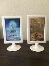 Ramadan Iftar Dua & Surah Qadr table-top stand sign (double sided)