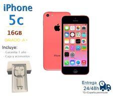 IPHONE 5C 16GB ROSA REACONDICIONADO LIBRE  / GRADO A+ / CAJA Y ACCESORIOS