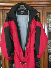 Striking Black Red Blue NORDICA Snow Ski Snowboarding Winter Outdoor Suit Sz M/M