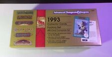 TSR Collector Cards 1993 AD&D 495 Card Factory Set (Box = EX) (Cards = NM/MT)