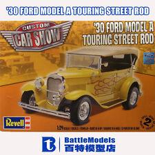 revell 1:24 '30 Ford Model A Touring Street Rod Plastic model kit new in the box