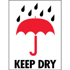 3 X 4 Keep Dry Labels 500roll