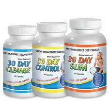 Diet Pills / 30 Days Slim / 30 Day Cleanse / 30 Day Control