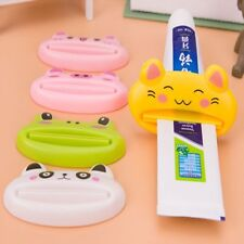 Cartoon Bath Toothpaste Squeezer Toothbrush Holder Animal Toothpaste Dispenser