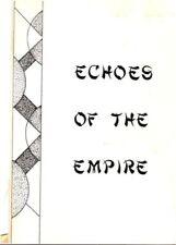 """Star Trek TOS Fanzine """"Echoes of the Empire 1, 3, 4"""", f  GEN  VINTAGE"""
