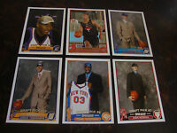 2003-04 Topps Basketball--Rookies--Lot Of 6--Multi-Lots--See List