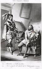 Carlo Emanuele I e Cardinale Richelieu. Duca di Savoia,Principe di Piemonte.1863