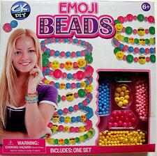 CREATIVE KIDS,EMOJI BEADS KIT,DESIGN & BUILD YOUR OWN EMOJI FASHION BANDS,AGE 6+