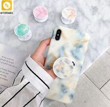 Mobile Phone Grip Bracket Marble Foldable Expanding Stand Finger Ring Holder