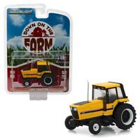 GREENLIGHT 48010F 1983 Tractor - Yellow and Black Diecast Model 1:64