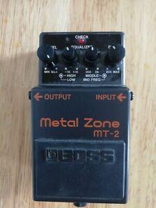 Boss Metal Zone MT-2 Distortion Pedal