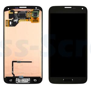 OEM Samsung Galaxy S5 i9600 G900F AMOLED LCD Screen Digitizer Home Button Flex