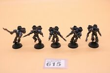 Warhammer 40k Chaos Space Marines Raptor Squad Well Painted Night Lords 615