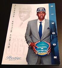2012-13 Panini Prestige Basketball Quincy Miller Rookie RC #238~Denver Nuggets!