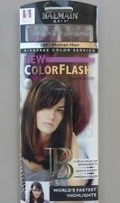 Extensions Balmain Hair ColorFlash 25 cm 12 pièces Wild Berry