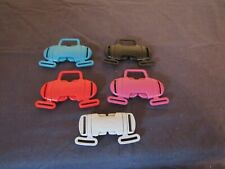 MAMAS & PAPAS SWIRL & CHICCO PUSHCHAIR STRAP BUCKLES VARIOUS COLOURS.