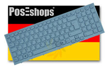 Orig. QWERTZ Tastatur Sony Vaio PCG-71211M Serie Weiss DE mit Rahmen Neu