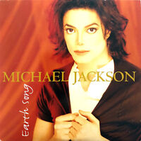 Michael Jackson ‎CD Single Earth Song - White Disc - Europe (VG+/EX)
