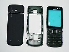 Full Housing cover fascia facia faceplate case for Nokia 6730 Black with keypad