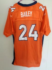 Champ Bailey Denver Broncos Authentic Reebok NFL Jersey Youth XL #24