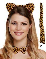 Donna Leopardo Animale Gallina Fare Festa Di Halloween Costume Vestito KIT