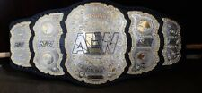 AEW World Heavyweight Belt 2mm Brass Adult Size