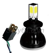 Motorcycle LED Headlight CREE Light Bulb H4 COB High-Low Beam 2400LM White 6000K