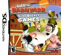 Back At The Barnyard: Slop Bucket Games - Nintendo DS G - Game Only