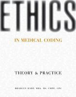 Ethics in Medical Coding: Theory and Practice by Bradley Hart (2012, Paperback)