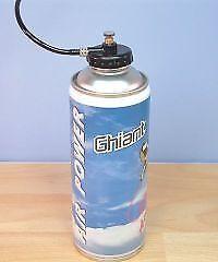 Ghiant 400ml Air Propellant for Airbrushes # BAM12