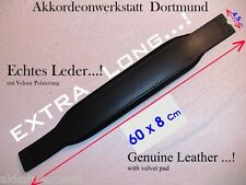 60 x 8 cm ( EXTRA Long ) Akkordeon Bassgurt,Riemen, accordion bass strap, belt