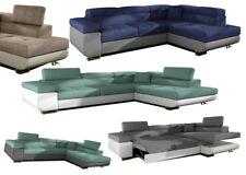 Bettfunktion Sofa Couch Ecksofa Eckcouch Polster Ecke Stoff Textil Couchen Neu