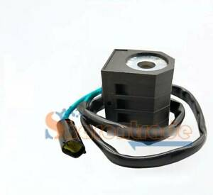 Fast and slow solenoid valve coil 12V for Doosan daewoo DH150/220/215/225-5-7-9
