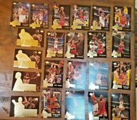 MICHAEL JORDAN VINTAGE HUGE 100 CT LOT Assorted UPPER DECK Michael Jordan cards