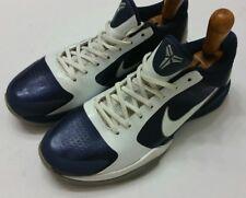 buy popular 37738 6657c Nike Zoom Kobe V 5 (407710-401) Midnight Navy Blue White Gray size