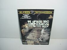The Man Who Knew Too Much Alfred Hitchcock DVD Movie