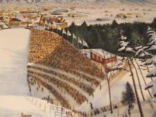 """'90 Meter Ski Jump""""by William Nelson hand-signed limited edition"""