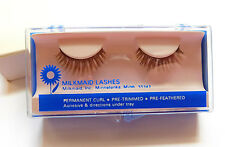 Vintage False Eyelashes 1960's from Milkmaid Lashes Butterfly Perm Curl Pre-trim