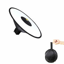 17'' Foldable Round Flash Softbox Diffuser For Canon Nikon Sony Yongnuo Godox