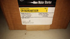 GE CR1062R2ABT1000 NEW IN BOX MISSING COVER 2P SIZE 0 MAN STARTER SEE PICS #A36