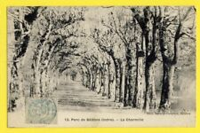 cpa FRANCE 36 - PARC de BELÂBRE (Indre) Les CHARMILLES Arbres Chien