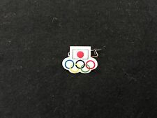 JAPAN OLYMPIC PIN BADGE DAMAGE PLASTIC PINS