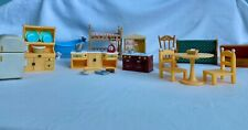 Calico Critters Furniture & Accessories Lot- Used