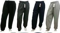 Mens Fleece Jogging Trouser Elasticated Joggers Tracksuit Bottoms Size M-5XL