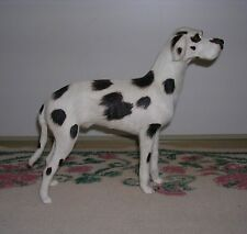 Realistic Lifelike Dalmation Dog Rabbit/Goat Fur Animal D769